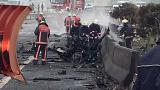 Turquia: Cinco mortos na queda de um helicóptero em Istambul
