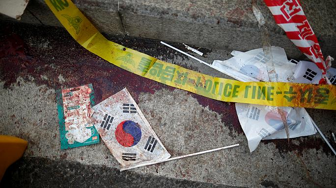 Во время акций протеста в Сеуле погибли демонстранты
