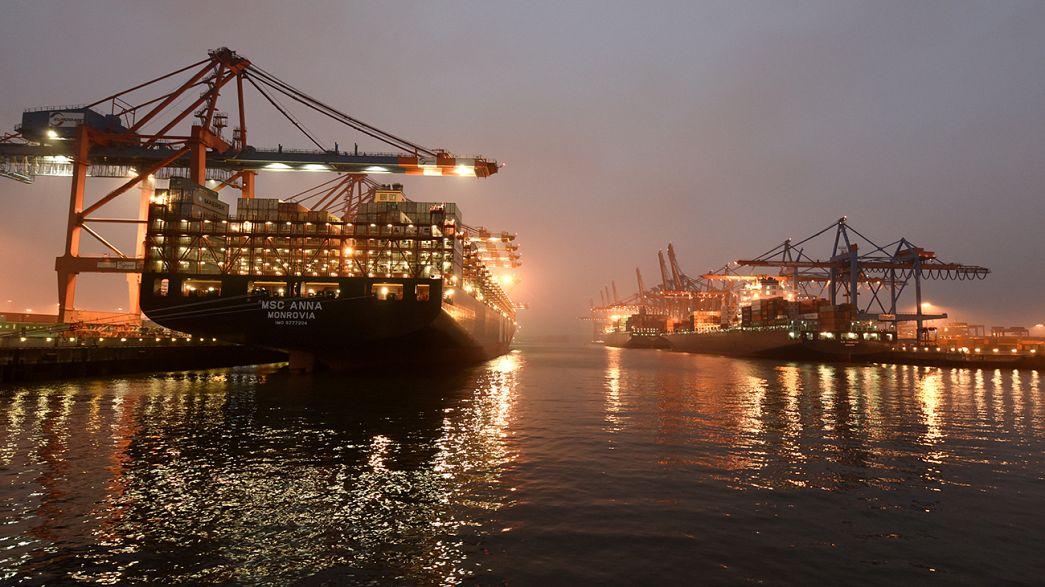 رشد تراز تجاری آلمان