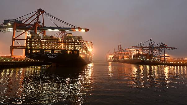 German imports jump, exports also strong