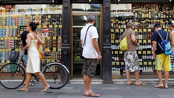 Desaceleración desde junio de las ventas minoristas en España