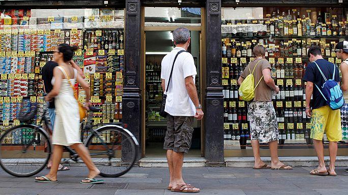 Gyenge januárt zárt a spanyol kiskereskedelem