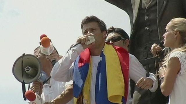 Wife of Venezuelan political prisoner Leopoldo Lopez speaks to Euronews