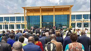 Congo : inauguration à Oyo de l'hôpital Edith Lucie Bongo