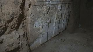 Tunnels under Mosul mosque show ISIL looted treasures