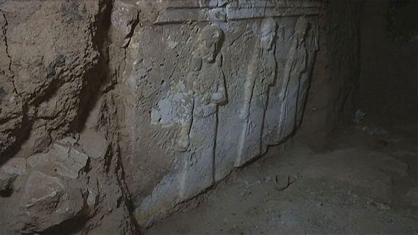 اكتشاف موقع أثري يعود إلى الحقبة الأشورية في أنفاق داعش
