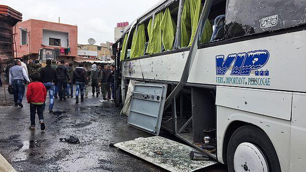 Kettős robbantás Damaszkuszban - zarándokok az áldozatok