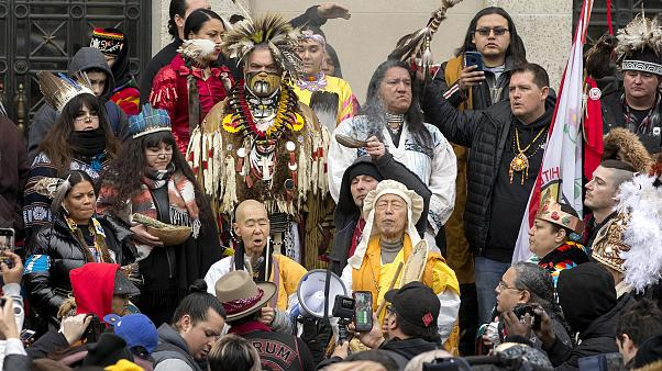 Image: Indigenous People's March in Washington