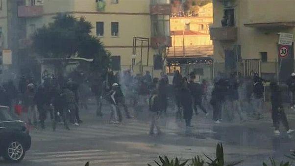 Disturbios en Nápoles por la visita a la ciudad del líder de la Liga Norte