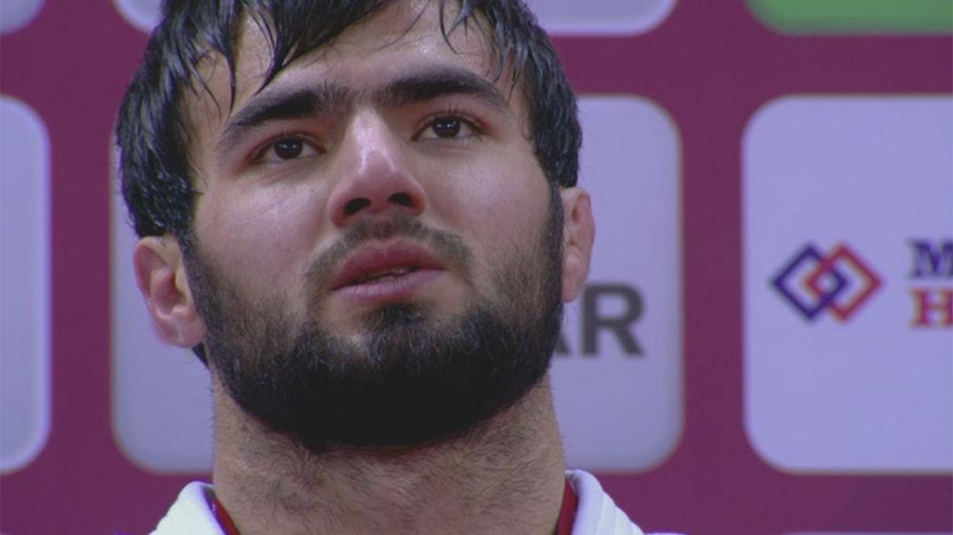 Руфат Исмаилов и Юри Алвеар выиграли золото во второй день Большого шлема в Баку