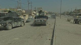 القوات العراقية تعلن تقدمها في الجانب الغربي لمدينة الموصل