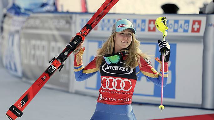 Shiffrin rainha do slalom