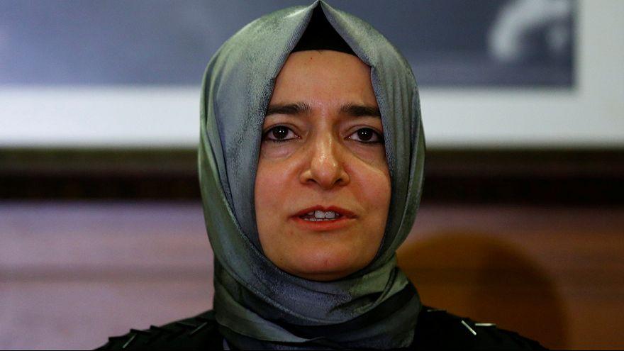وزيرة الأسرة التركية تصل اسطنبول
