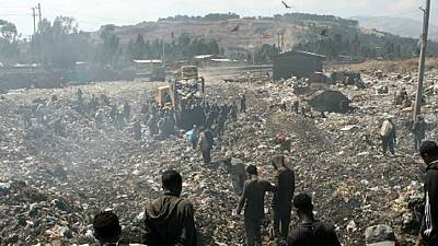 Ethiopia: At least 30 killed in landslide at Addis Ababa rubbish dump
