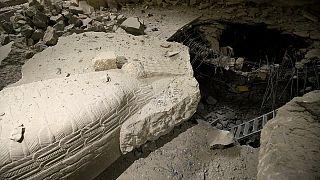 Ennyi maradt a moszuli múzeumból