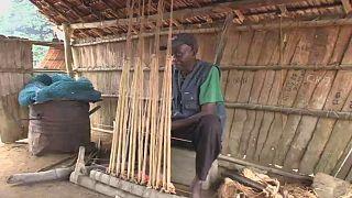 Congo: le raphia, une richesse traditionnelle qui se perd
