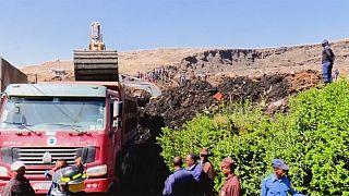 Al menos 46 muertos en Etiopía sepultados por una montaña de basura