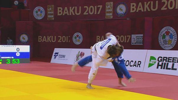 Holanda triunfa en el Grand Slam de Bakú de yudo
