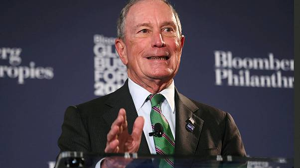 Image: Former New York City Mayor Michael Bloomberg