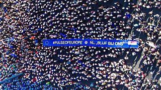 پشتیبانی هزاران شهروند اروپایی از اروپای واحد