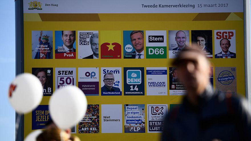 Нидерланды за 2 дня до выборов: впереди Рютте, за ним - Вилдерс
