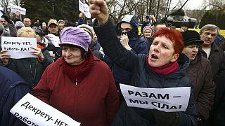 """Weißrussland: Neue Kundgebungen gegen """"Sozialschmarotzer-Steuer"""""""