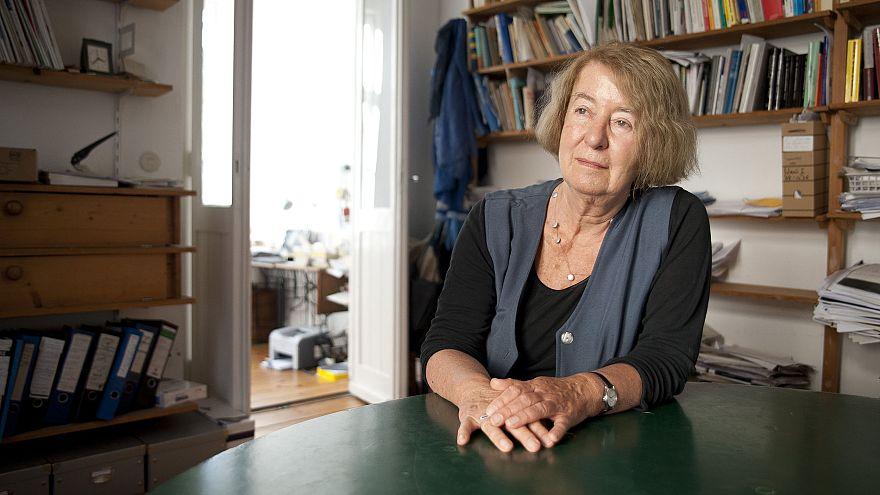 Image: Hilde Schramm, daughter of Albert Speer, of the Zurueckgeben foundat