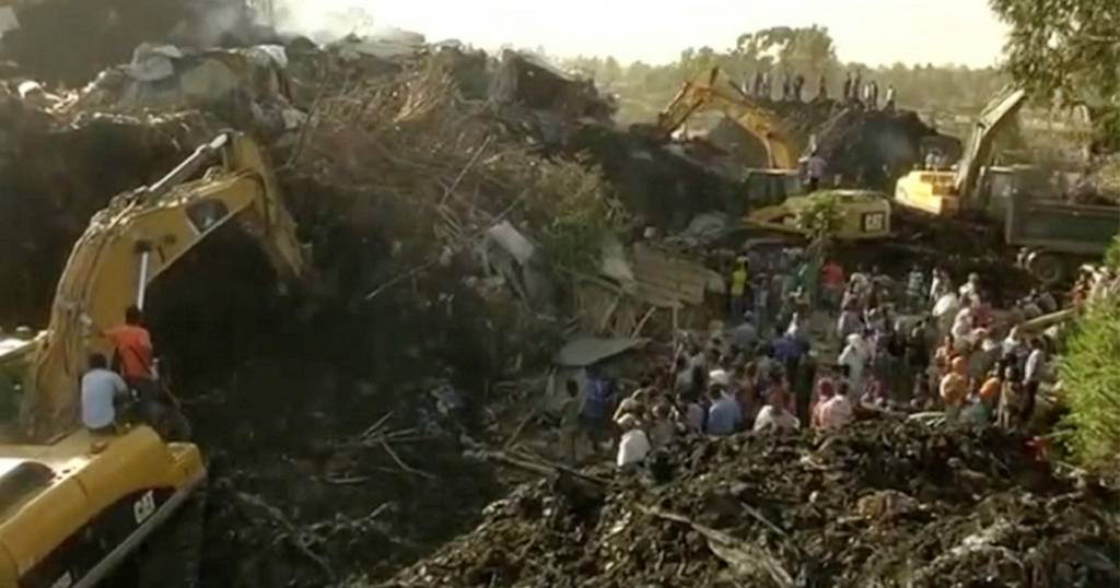 Funeral today for Ethiopia rubbish dump landslide victims, death toll rises to 48