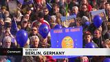 5000 manifestants pro-européen à Berlin