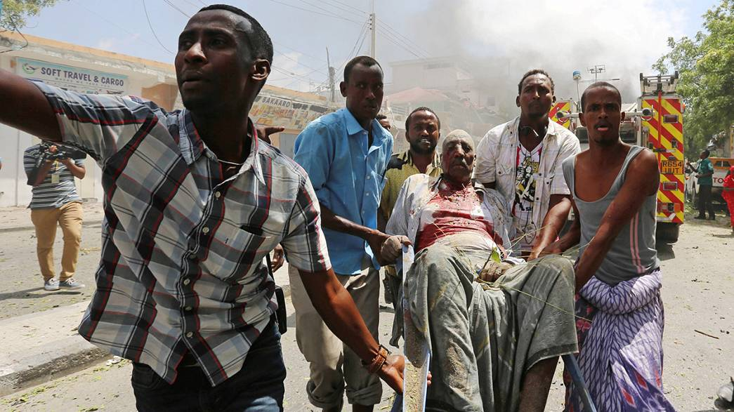 Deadly explosions rip through Somali capital