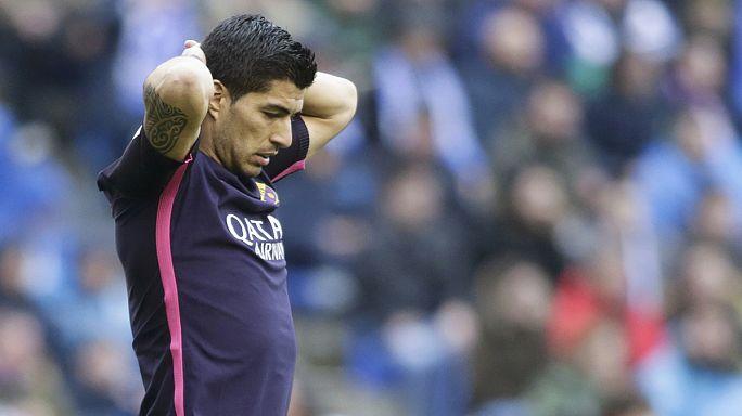 El Deportivo devuelve al Barça a la tierra