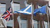 Suspense sulla Brexit mentre la Scozia punta all'indipendenza