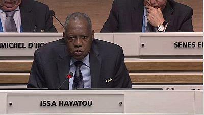CAF/présidence: le gouvernement nigérian ''vote'' pour Issa Hayatou