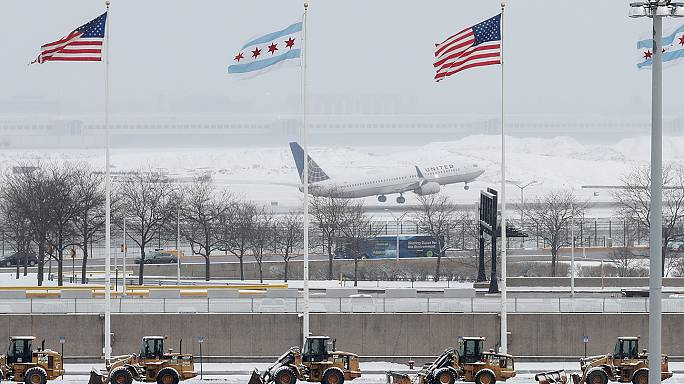 US eastern seaboard braces for blizzards