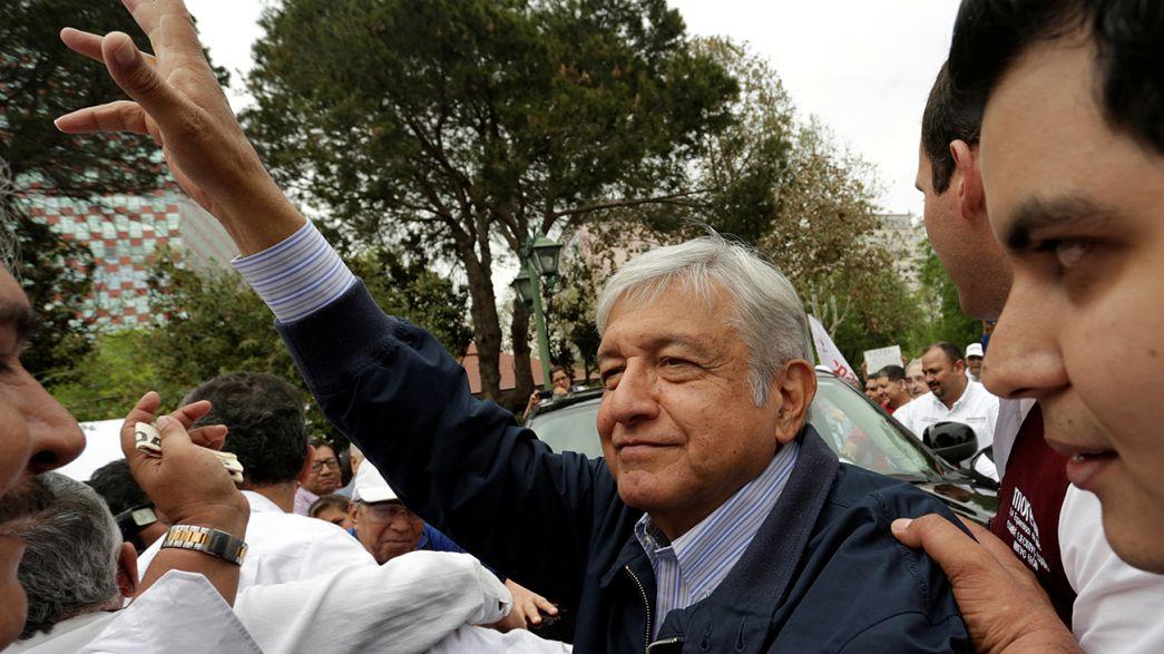 Визит мексиканского политика в Нью-Йорк: овации и протесты