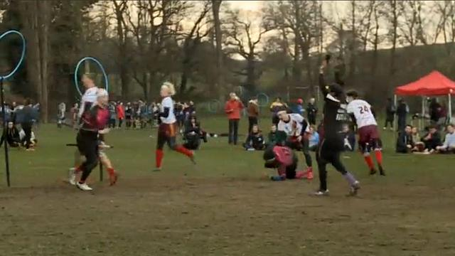 A dash of magic on the fields of Staffordshire