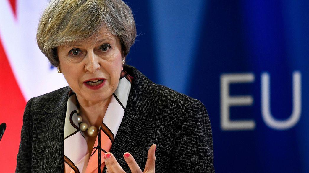 Theresa May interviene davanti al Parlamento sulla Brexit