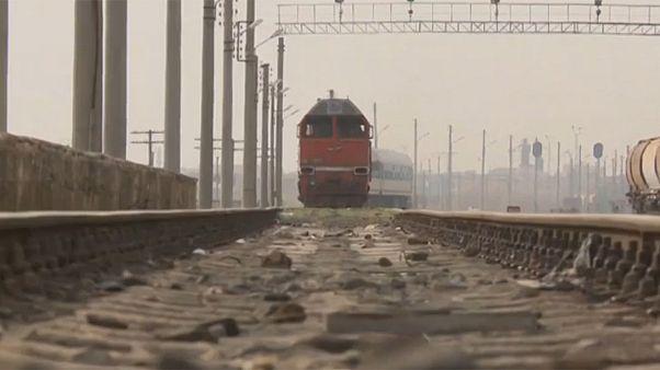 Halep'te tren düdüğü yeniden duyuldu