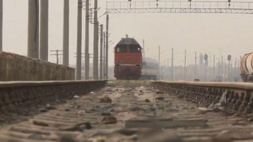 Estação de comboios reabre em Alepo