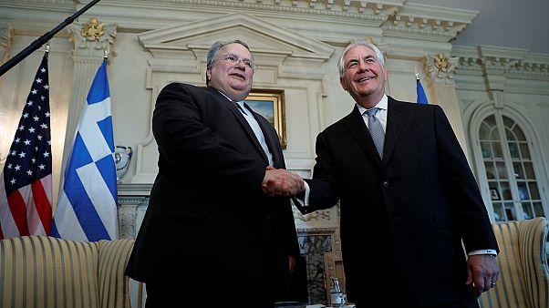 Συνάντηση του Έλληνα υπ.Εξωτερικών με τον Αμερικανό ομόλογό του