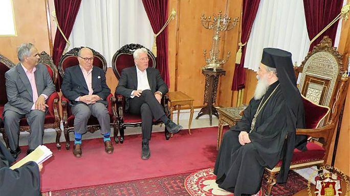 Με τον Ρίτσαρντ Γκιρ συναντήθηκε ο πατριάρχης Ιεροσολύμων