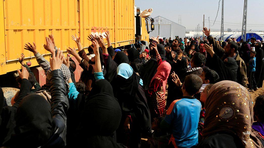 Irak ordusu Musul'un batısını çevreledi