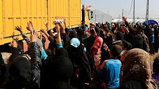 Mosul, la battaglia a ovest e gli sfollati