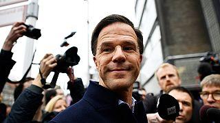 Rutte dice a euronews que no se siente responsable de un eventural triunfo de Wilders