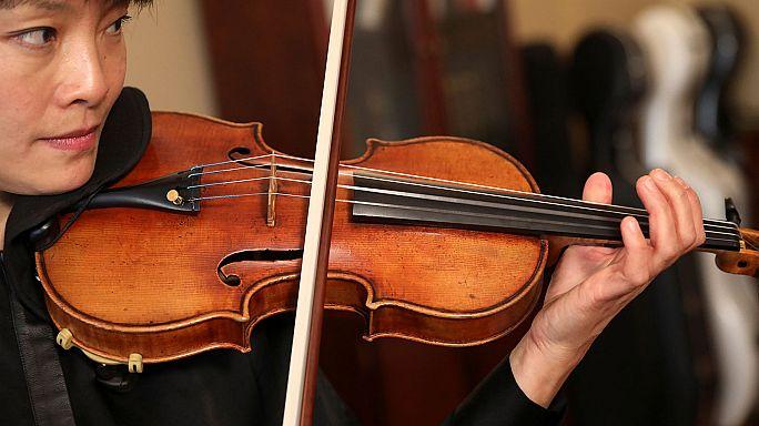 Vuelve a sonar ante el público un Stradivarius robado hace 37 años