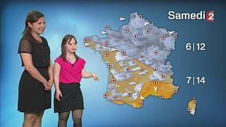 Melanie does the weather: French woman with Down's Syndrome fulfills dream to become weather girl
