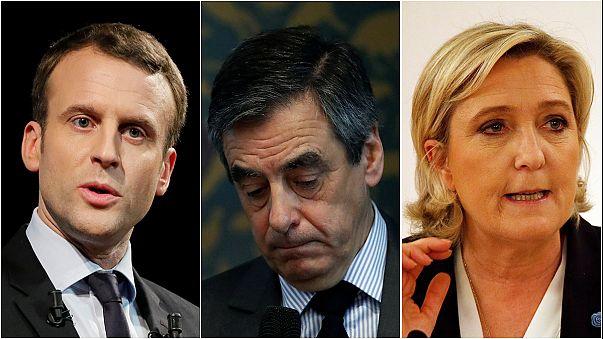 França: Fillon acusado, Le Pen suspeita de fraude fiscal e Macron investigado