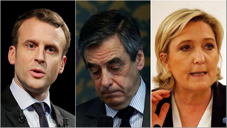Fillon, Le Pen, Macron e i guai con la giustizia