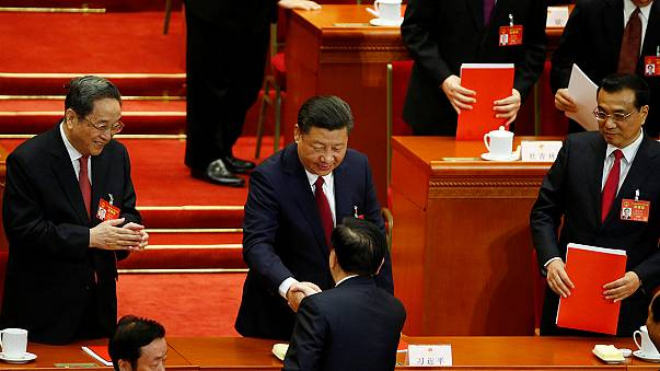 China closes NPC with warning to US