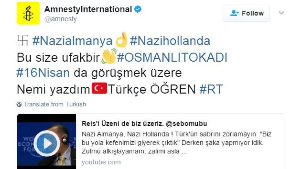 Erdogan-hívek hackelhettek meg Twitter-oldalakat